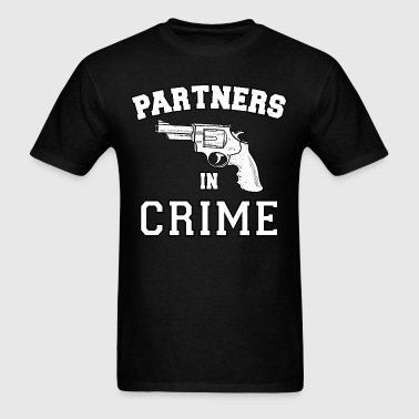 Partners In Crime Right - Men's T-Shirt