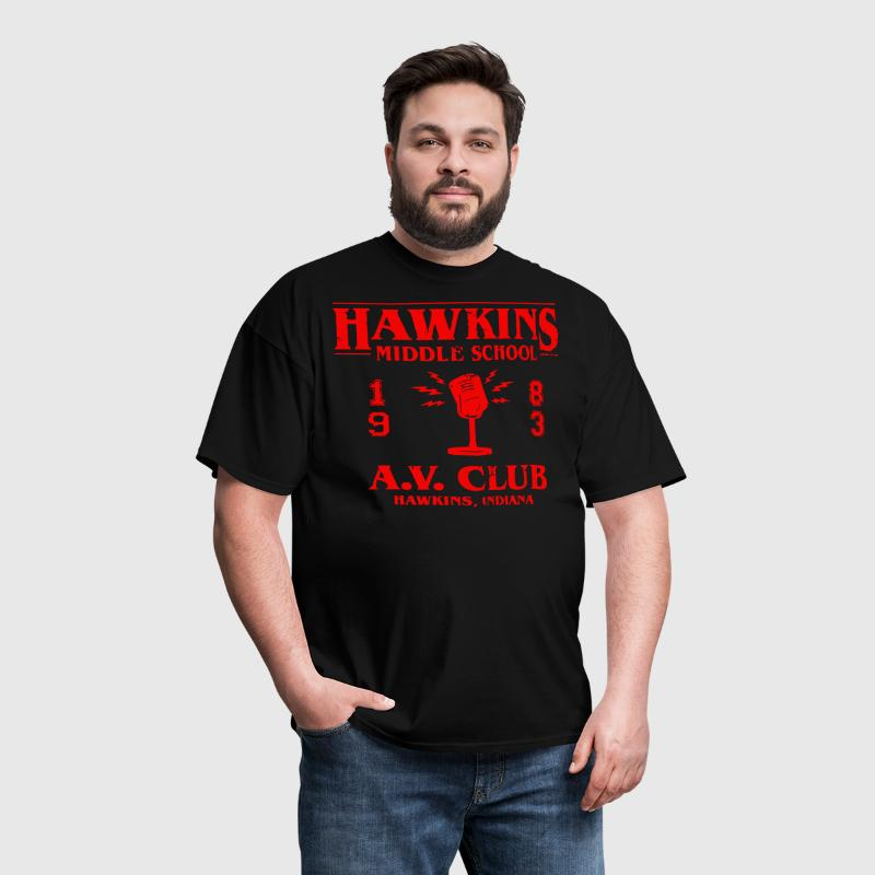 Hawkins Middle School A - Men's T-Shirt