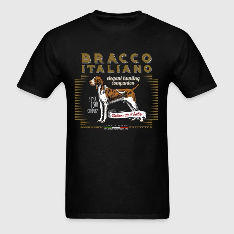bracco italiano elegant - Men's T-Shirt