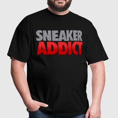 sneaker addict speckled - Men's T-Shirt