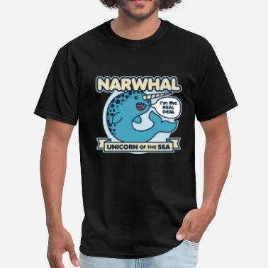 Narwhal Unicorn Of The Sea - Men's T-Shirt
