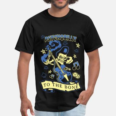 Ska Rude Girl Psychobilly to the bone T - shirt - Men's T-Shirt