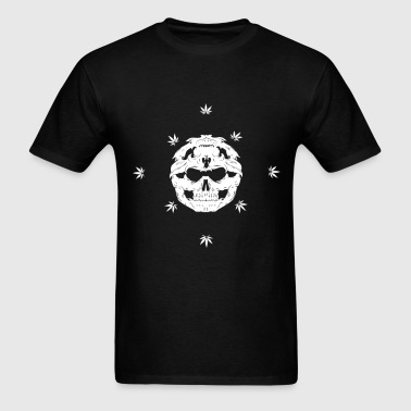 Skull Bandana - Men's T-Shirt