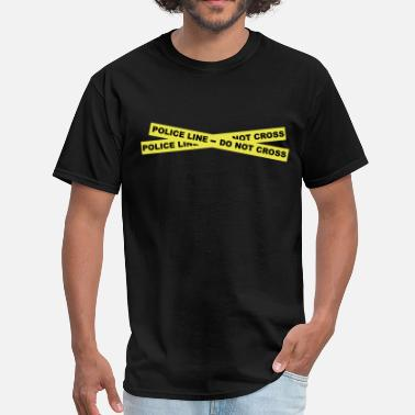 Forensic Investigator Police Line - Do Not Cross - Men's T-Shirt
