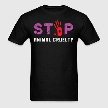 Animal Cruelty - Men's T-Shirt