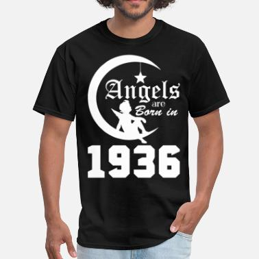 Born In 1936 Angels are Born in 1936 - Men's T-Shirt