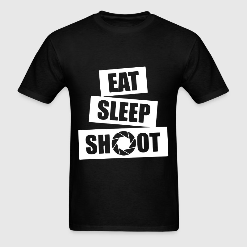 V5 Eat Sleep Shoot - Men's T-Shirt