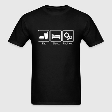 Eat Sleep Engineer - Men's T-Shirt