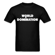Domination t shirts