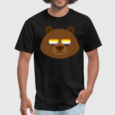 Gay Bear Sunglasses Gay Pride - Men's T-Shirt