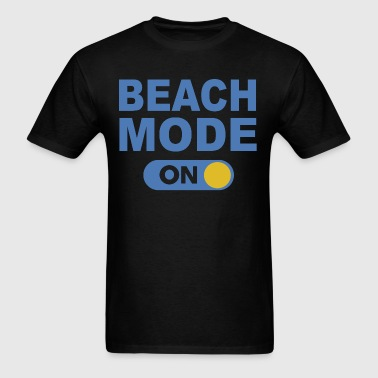 Beach mode on - Men's T-Shirt