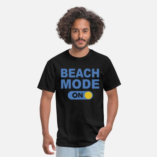 Beach T-Shirts - Beach mode on - Men's T-Shirt black