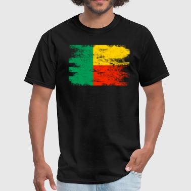 Benin Benin Shirt Gift Country Flag Patriotic Travel Africa Light - Men's T-Shirt