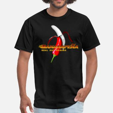 Absurde Art Red Hot Bananapenja - Men's T-Shirt