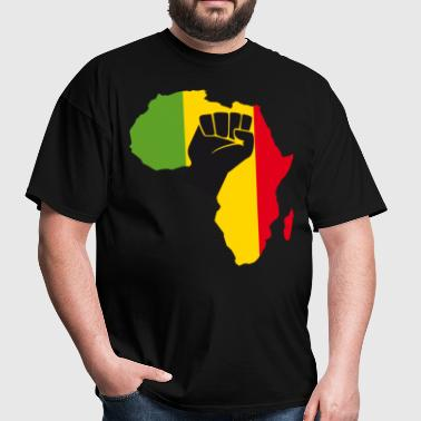 African Black Power - Men's T-Shirt