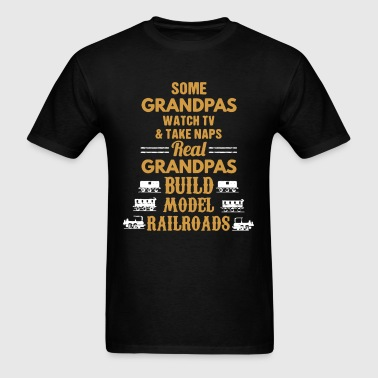 Railroads Shirt - Men's T-Shirt
