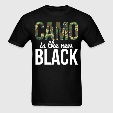 Camo Is The New Black - Country Closet - Men's T-Shirt