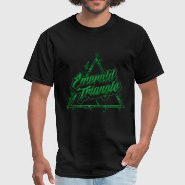 Emerald Triangle - Men's T-Shirt