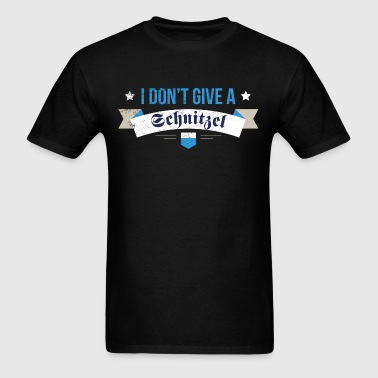 Don't Give A Schnitzel Funny Oktoberfest - Men's T-Shirt