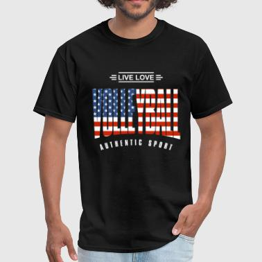 Live Love Volleyball US - Men's T-Shirt