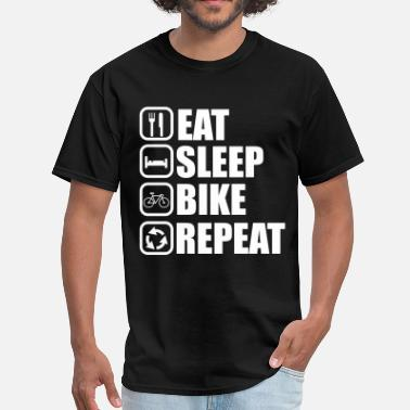 eat sleep bike - Cycling  - Men's T-Shirt