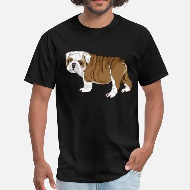 Shop Bulldog Puppy T-Shirts online   Spreadshirt