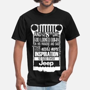 Jeepster Jeep - The world needs more inspiration - Men's T-Shirt
