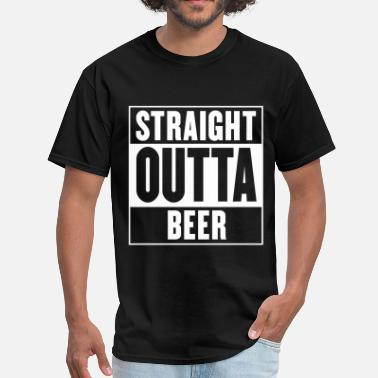 Bill Compton Straight outta beer - Straight outta compton - Men's T-Shirt