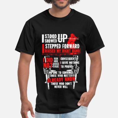 Medic 2nd Amendment - I have nothing to prove - Veteran - Men's T-Shirt