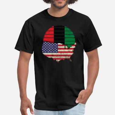 Pan African Flag African American Flag Pan African Flag Sun Vintage - Men's T-Shirt