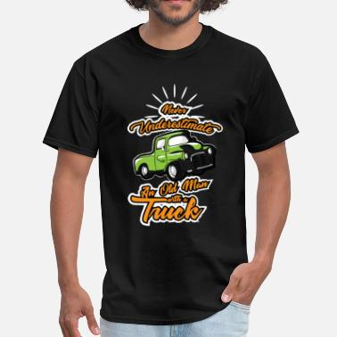 4wd Funny 4WD Grandpa Pickup Truck Old Man Gift - Men's T-Shirt