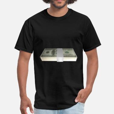 Dollar Bill Dollar Stack - Men's T-Shirt