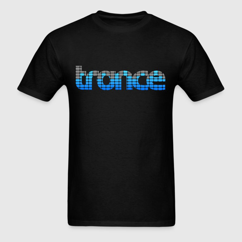 Trance EQ (Blue) - Men's T-Shirt