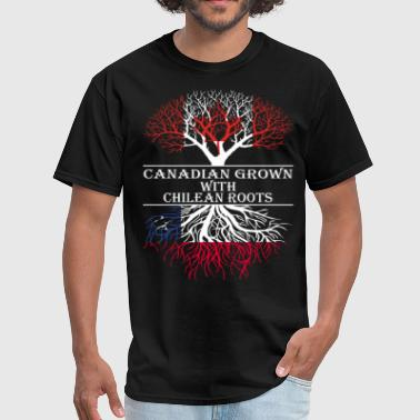 Canadian Grown With Chilean Roots - Men's T-Shirt