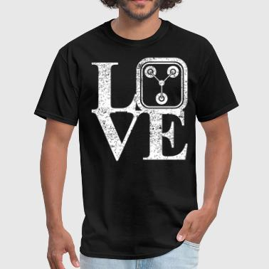 1 21 Gigawatts Of Love - Men's T-Shirt