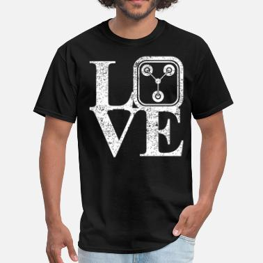 1-21-gigawatts 1 21 Gigawatts Of Love - Men's T-Shirt