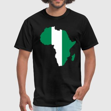 Jersey Nigeria Flag In Africa Ma - Men's T-Shirt