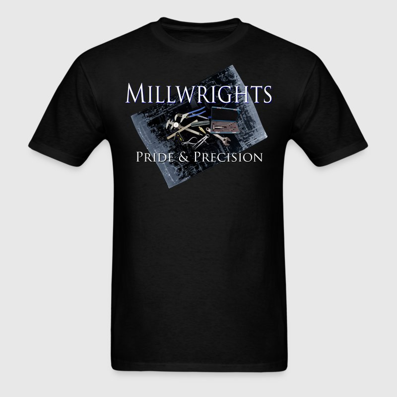 millwright_pride__precision - Men's T-Shirt