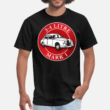 Jaguar Vintage Car Jaguar mk1 3.4 litre - Men's T-Shirt