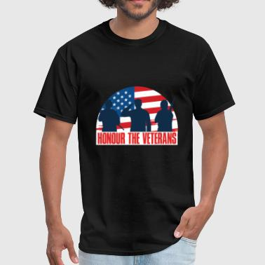 Veterans Day - Honor the veterans - Men's T-Shirt