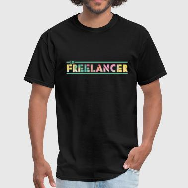 Freelance I'm Freelancer Job T-Shirt Gift Item - Men's T-Shirt