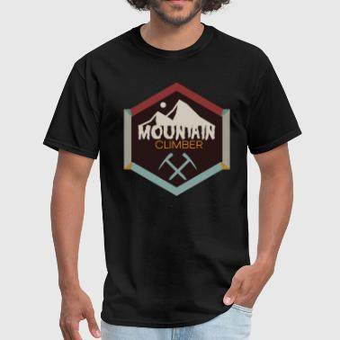 Climber Tee Mountaineers T-Shirt Great Gift Idea - Men's T-Shirt