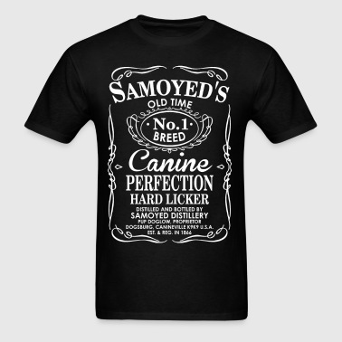 Samoyeds Dog Old Time No1 Breed Canine Perfection - Men's T-Shirt