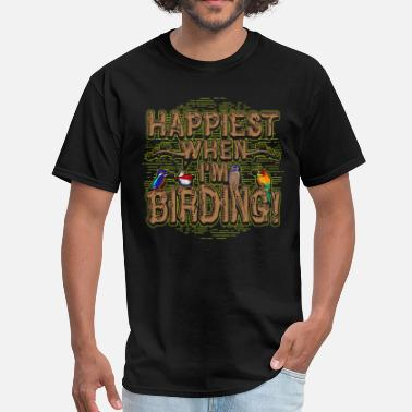 Gift For Bird Bird Watcher Birding Gift - Men's T-Shirt