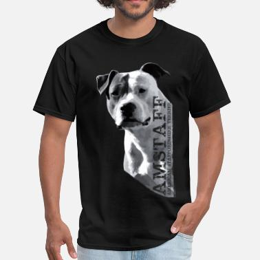 Staffordshire American Staffordshire Terrier - Amstaff - Men's T-Shirt