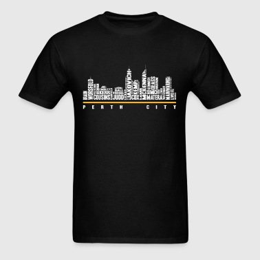 Perth city - Awesome t-shirt for Perth lovers - Men's T-Shirt