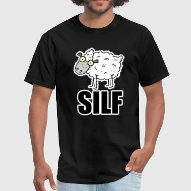 Fuck Sheep SILF S.I.L.F. SHEEP I LIKE TO FUCK - Men's T-Shirt