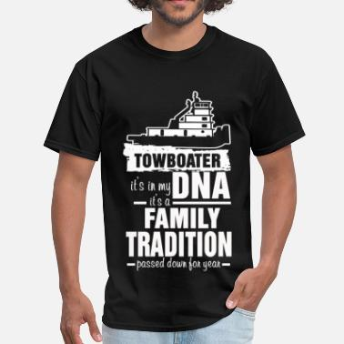 Tradition Pusher - Its in my DNA It's a Family tradition - Men's T-Shirt