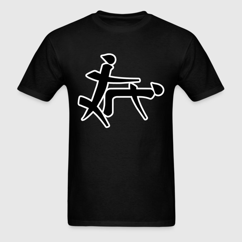 Chinese Sex Doggy Style  - Men's T-Shirt