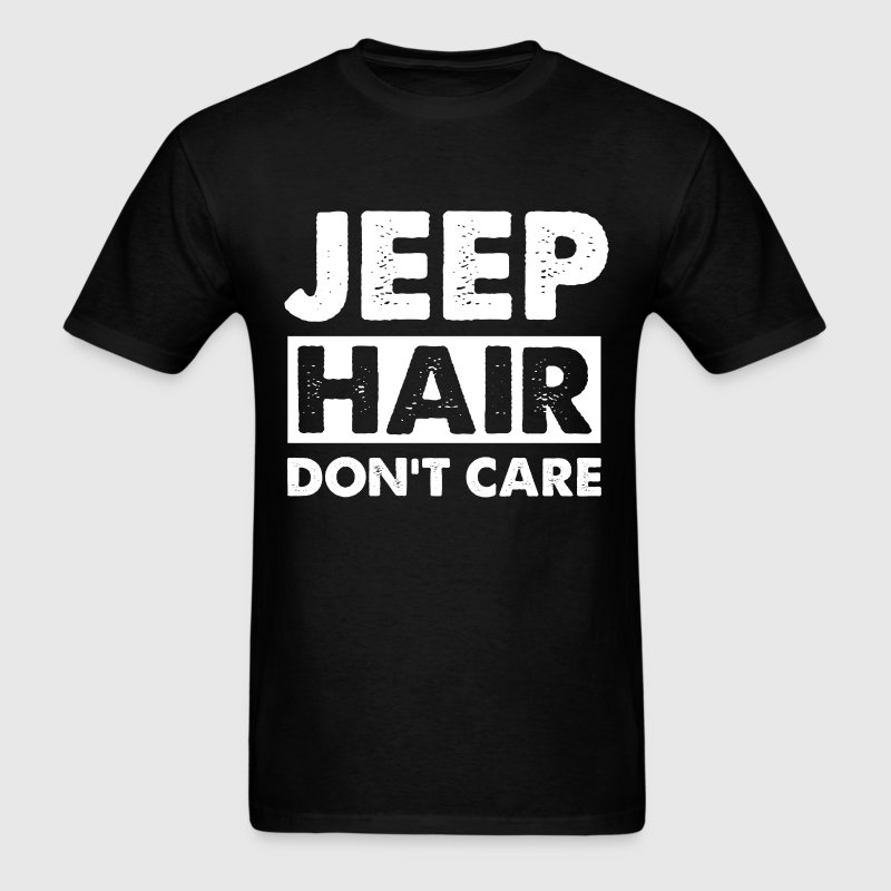Jeep lover - Jeep hair don't care - Men's T-Shirt